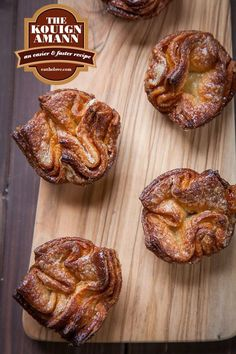 Amann Recipe, the easy and fast way Kouign Amann, an easier and faster recipe. Photo and recipe by Irvin Lin of Eat the Love. Kouign Amann, an easier and faster recipe. Photo and recipe by Irvin Lin of Eat the Love. Kouign Amann, Just Desserts, Dessert Recipes, Flaky Pastry, French Pastries, Sweet Bread, Sweet Recipes, A Food, Food Processor Recipes