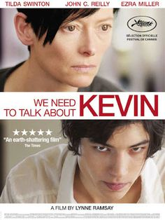 """""""We Need To Talk About Kevin"""" de Lynne Ramsay Ezra Miller Tilda Swinton Un… Ezra Miller, Tilda Swinton, Beau Film, Movies And Series, Movies And Tv Shows, Image Emotion, Film Thriller, Earth Film, Cinema Posters"""