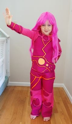 Lava Girl Costume DIY How-to