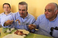 Revista El Cañero: Abinader dice Medina ya  está por debajo del 50 po...