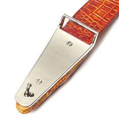 Men Alligator Crocodile Skin Imitation Second Floor Cowhide Leather Alloy Adjustable Buckle Belt at Banggood