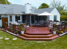 Deck And Patio Designs | Wood Deck Design Ideas