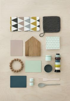 Ferm Living Cutting Board 1, center, available at #polkadotpeacock. #peacocklove #FERMliving