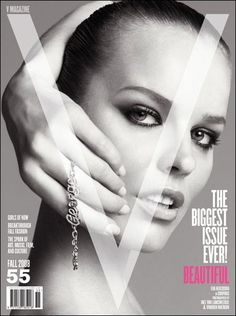 Eva Herzigova - V Magazine [United States] (September 2008)