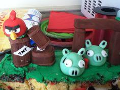 Mmm yummy birthday cake