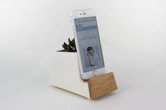 d3abd9d1c60ce Wood Front Phone Dock (More Colors)