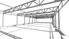 Resultado de imagen para cerchas metalicas para cubiertas Truss Structure, Steel Structure Buildings, Metal Buildings, Architecture Board, Concept Architecture, Interlocking Concrete Blocks, Structural Drawing, Tin Shed, Steel Trusses