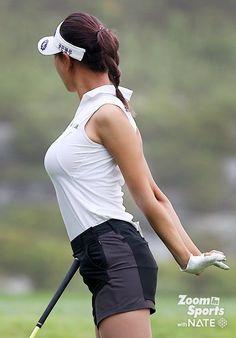 Girls Golf, Ladies Golf, Golf Fashion, Sport Fashion, Girl's Day Yura, Golf Pictures, Sexy Golf, Steam Girl, Tennis Players Female