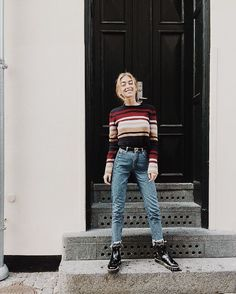 Would Combine With Any Piece Of Clothes. - Street Fashion, Casual Style, Latest Fashion Trends - Street Style and Casual Fashion Trends Denim Outfits, Winter Outfits, Casual Outfits, Cute Outfits, Fashion Outfits, Fashion Trends, Womens Fashion, Mode Style, Style Me