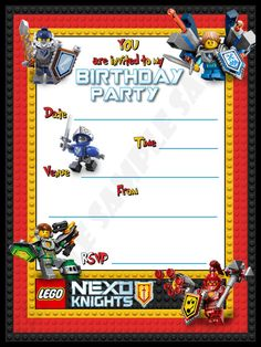 nexo knight birthday - Google-Suche