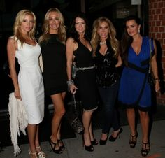 The Real Housewives of Beverly Hills at Mr Chow