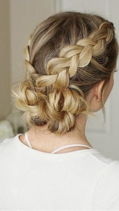 Braided bun | http://www.hercampus.com/school/cu-boulder/guide-all-summer-updos