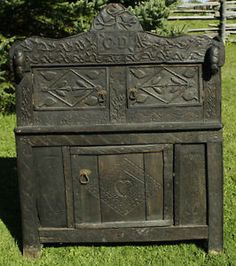 Very Old Antique Cupboard