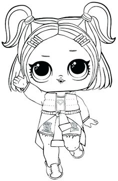 You can find here 12 free printable coloring pages of LOL Surprise Sparkle series dolls. Best coloring pages from different LOL Surprise series. Tangled Coloring Pages, Barbie Coloring Pages, Tree Coloring Page, Alphabet Coloring Pages, Coloring Pages For Girls, Colouring Pages, Free Coloring, Coloring Books, Coloring Worksheets