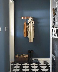 Jotun Nordisk hav. Work Surface, Modern Kitchen Design, Mirror, Inspiration, Furniture, Dining Room, Home Decor, Google, Colors