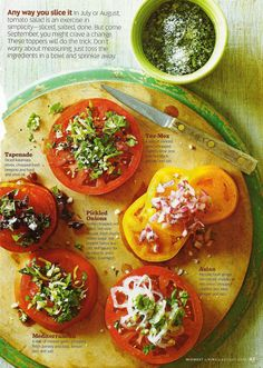 Tomato Toppers