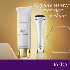 Feel the dramatic difference with the Royal Jelly Cleansing Duo, uncover exceptional radiance. http://jafra.me/d35