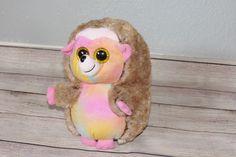 844a5ce5254 Ty Beanie Boos Buddies Pinecone Rainbow Hedgehog 2018 Stuffed Doll Plush Toy  9