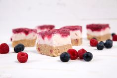 Frozen Berry Yogurt Bars - Move Nourish Believe