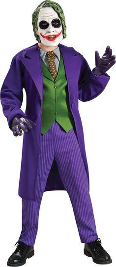 The Dark Knight The Joker Deluxe Boys Costume