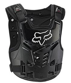 Fox Racing Proframe LC Youth Boys Roost Deflector Motox Motorcycle Body Armor - Black/One Size Fox Racing, Racing News, Motocross Outfits, Motocross Gear, Atv Riding, Riding Gear, Dirt Bike Gear, Dirt Biking, Bike Equipment