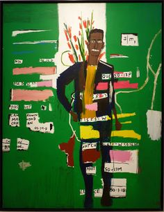 Basquiat / Desmond, 1984, Acrylic on canvas, 219 x 173 cm