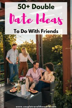 Double date ideas - cute double date ideas including both for teenager couples and for adults. These dates include fun cheap things to do for couples at home as well as outdoors in summer, fall, winter and spring. Get together with your friends for a couples game night or other fun date night idea here! #dates #dateideas #cuteideas #loveideas Unique Date Ideas, Day Date Ideas, Cute Date Ideas, How To Improve Relationship, Relationship Advice, Summer Fall, Fall Winter, Spring, Rainy Day Dates