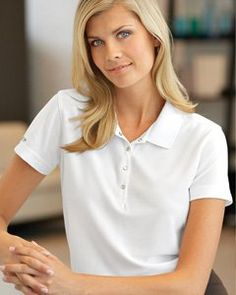 Golf Outfit S Women Discounted Izod Ladies Performance Golf Pique Polo Corporate Outfits, Polo Shirt Women, Polo Shirts, Womens Golf Shoes, Golf Fashion, Ladies Fashion, Women's Fashion, Professional Women, Golf Outfit