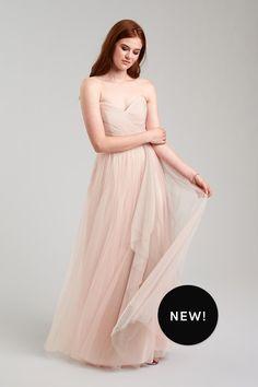 0f9a82fd6b3 Off-Shoulder Ballgown Bridesmaid Dress