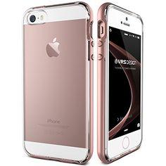Funda iPhone SE, VRS Design [Crystal Bumper][Oro Rosa] - ... https://www.amazon.es/dp/B01CF2FFUU/ref=cm_sw_r_pi_dp_x_Y6Yczb570DZY0
