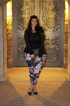 The Colour Of Style In Plus Size! - Street Fashion