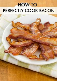 Bacon is a delicious addition to any of our CPK oven-ready pizzas. Learn how to cook bacon perfectly every time!