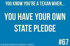 I pledge allegiance to thee texas one state under god one and indivisible