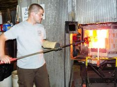 Visit Blenko Glass Factory, WV