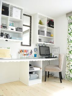 Tracie's Craft Room · Craft Room Tours · Cut Out + Keep