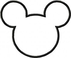 Minnie Mouse Cut Outs Printable | Minnie Mouse Party Invitations ∙ How To by Ashinezz on Cut Out ...
