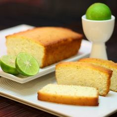 Bake in Paris: Lime and Coconut.