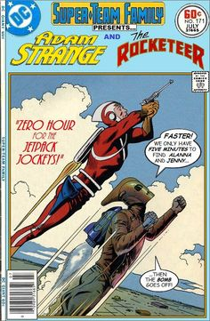 Super-Team Family: The Lost Issues!: Adam Strange and The Rocketeer