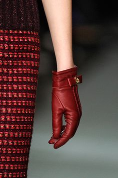 Tory Burch, Fall 2012 RTW  that glove is so cute and twee and i want it