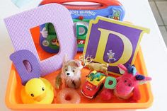 Life with Moore Babies: Letter D Sensory Bin