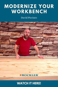 David Picciuto of Make Something brings his workbench into the 21st century with add-ons and accessories! Watch the build video here.  #createwithconfidence #modernization #workbench #makesomething #davidpicciuto