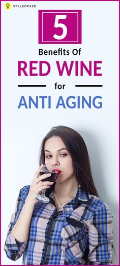Do the wrinkles and age spots on your face sadden you? Have you been on a constant lookout for that magic drink which can slow down the process of aging and give you a large dose of youthfulness? Then your wait is finally over. Red wine can help you take care of your skin. Here's how!  #AntiAging