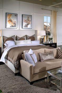 bedroom design, finish carpentry, master bedroom, neutral color scheme