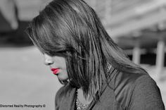 Black and white pic with a pop of color. Self portrait/ something different. @stevesolis