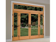 1000 images about doors on pinterest french patio for Sliding french doors with sidelights