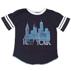 NYC Varsity Tee by Babesta x Rowdy Sprout
