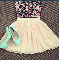 This would be cute without the shoes