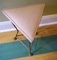 Vintage Mid Century Modern Triangular Shaped by retrowarehouse