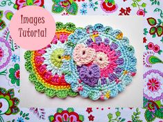 Ravelry: Colorful Medallion Crochet Pattern pattern by Maria Manuel