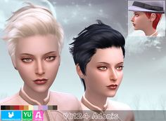 Emma's Simposium: TS4 Post #109 - 5 Hairstyles by Newsea - AU
